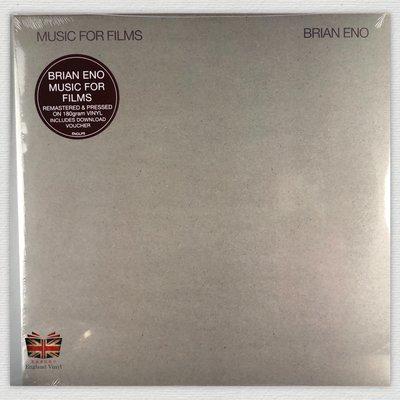 [英倫黑膠唱片Vinyl LP] 布萊恩伊諾 / 電影裡的配樂 Brian Eno / Music for Films