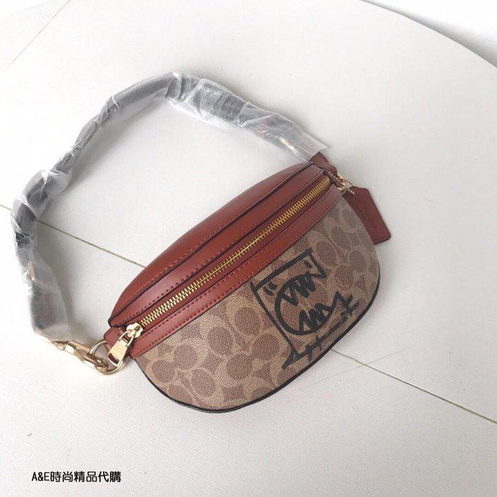 A&E精品代購COACH 寇馳 73939 Selena 腰包 胸包 女生斜背包 肩帶可調節  潮流單品 美國代購
