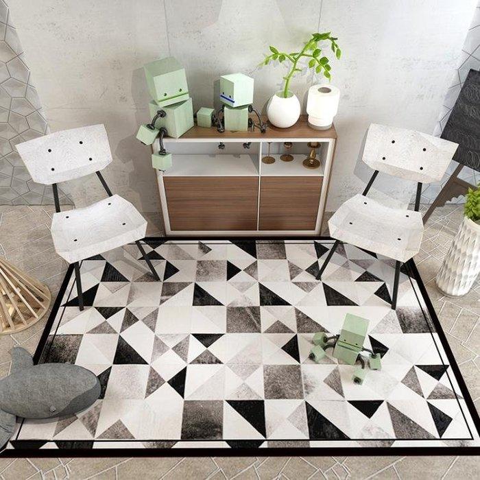 【全店免運】圓形地毯北歐簡約現代吊籃電腦椅茶幾臥室床邊地墊滿鋪客廳地毯 『幸福小築』