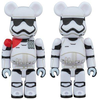 正版【Star Wars】Bearbrick 星球大戰 STORMTROOPER ,7cm公仔