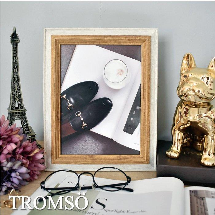 TROMSO巴黎撞色木紋6x8相框-原木/桌立壁掛橫式直式 裝飾 簡約設計☆大樹小屋☆【H0305234】