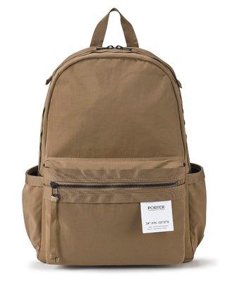 Porter International Crease系列 後背包 L 駝色 11705-00823