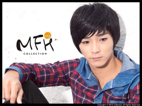 MFH韓國男假髮~韓劇髮型 修飾寬臉【M041002】*男生假髮 男髮型 韓國髮型 男款假髮 韓星造型