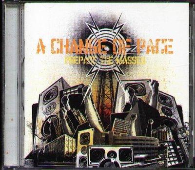 八八 - Change Of Pace - Prepare the Masses - 日版 CD+BONUS