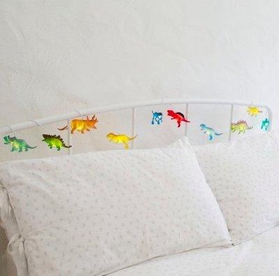 [SECOND LOOK]英國雜貨 10個小恐龍 小夜燈