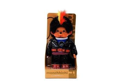 ☆╮泰迪學園╭☆日本Sekiguchi 夢奇奇MONCHHICHI【帥氣嘻哈龐克】『幸福.幸運』的可愛小猴子