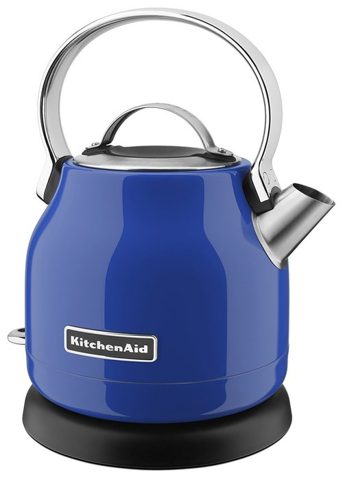 【Sunny Buy 生活館】Kitchenaid 小型電水壺(藍) KEK1222 熱水壺 不鏽鋼 快煮壺