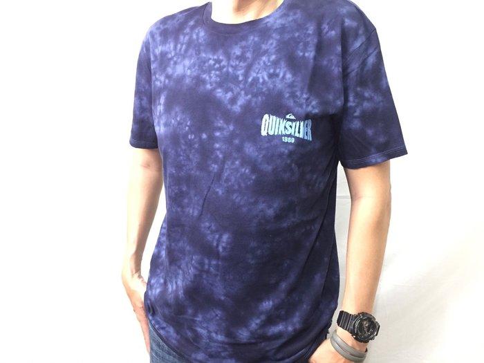 [阿菊潮流工作室]Quiksilver Bijou Blue Rockin Rails T-Shirt [免運費]
