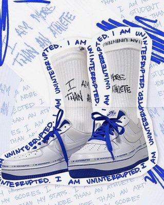 日本代購 Uninterrupted x Nike Air Force 1 MTAA QS CQ0494-100 聯名 男鞋(Mona)
