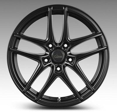 全新鋁圈 wheel A1323 16吋鋁圈 5孔100 5孔108 5孔112 5孔114.3 平光黑 7J ET38