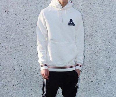 全新商品 Palace Skateboards 16FW Crib Hoodie 連帽 帽TEE 長袖 黑色 白色