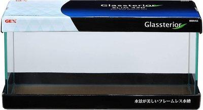 AZ-205 微笑的魚水族☆日本GEX-五味【高透光空缸(玻璃缸)-SLIM 600】附EVA止滑軟墊 高雄市