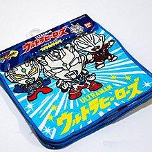 *小栗鼠散步鋪*日本帶回 Q版 鹹蛋超人 奧特曼 超人力霸王 z 擦手巾 小方巾 手帕 小毛巾~3件一組