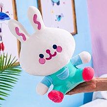 佈谷林~可愛小兔子毛絨玩具抱枕玩偶小號布娃娃公仔兒童公主兔生日禮物女