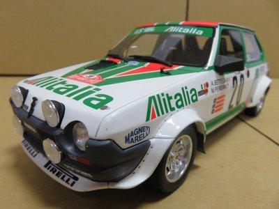 =Mr. MONK= OTTO Fiat Ritmo Abarth Gr.2