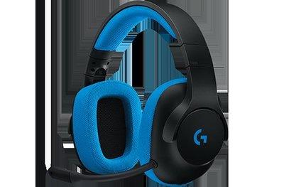 羅技 電競遊戲耳機麥克風G233(981-000706)
