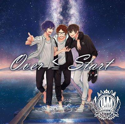 特價預購 UMM.com (ゆとり、もるでお、無音)  Over ≦ Start (日版初回限定盤CD+DVD) 最新