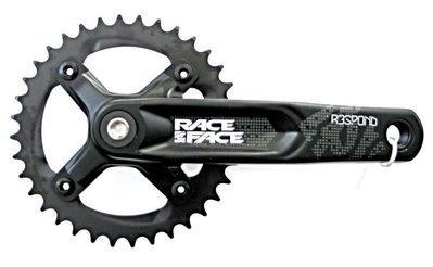 推薦# 自行車配件 腳踏車配件 RACEFACE RESPOND山地車下坡車AM越野中空一體式36T單盤牙盤組#規格不同 售價不同
