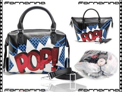 Fornarina-義大利精品 繽紛字母側背包 / 賣完沒貨