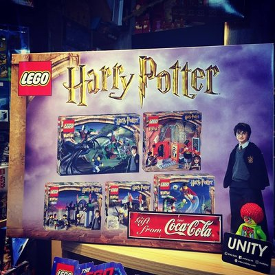 Lego 4721 4726 4727 4731 4735 626 Harry Potter Coca Cola Gift Set (Unity Toy)