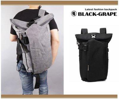 韓系旅人風造型後背包 / 15.6吋筆電包 / 潮流背包【B8905】黑葡萄包包