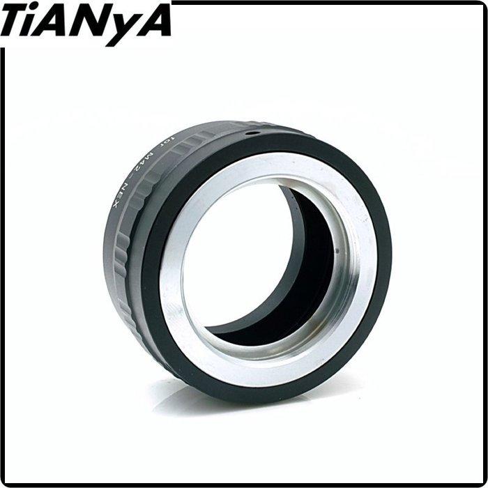 又敗家Tianya M42轉NEX鏡頭轉接環,有檔板M42鏡頭轉索尼E接環E-Mount M42轉E轉接環 M42-E接環 M42-NEX接環M42轉NEX接環
