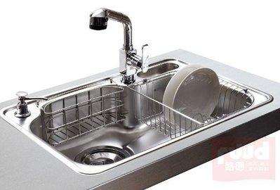 【路德廚衛】ENZIK sink韓國不鏽鋼水槽- DS-750 P 不鏽鋼水槽 歡迎來電詢問!!