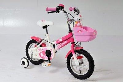 正版Hello Kitty12吋高把兒童腳踏車/獨家限量商品