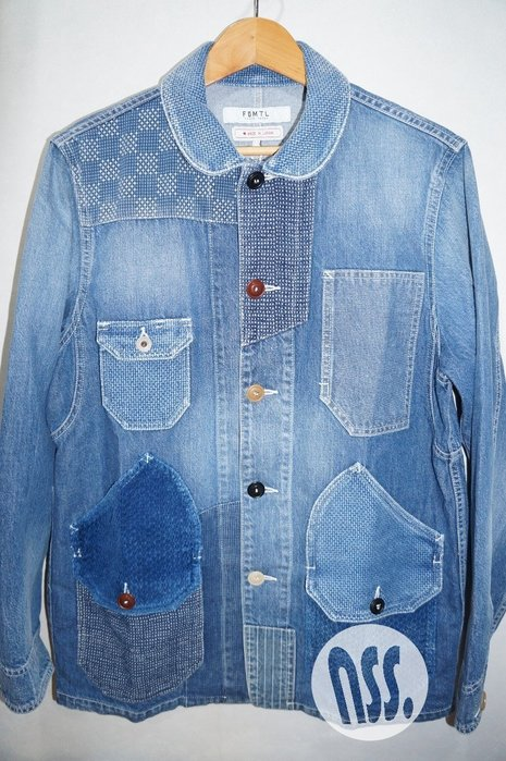 「NSS』FDMTL 19 PATCHWORK COVERALL 3YR WASH M L