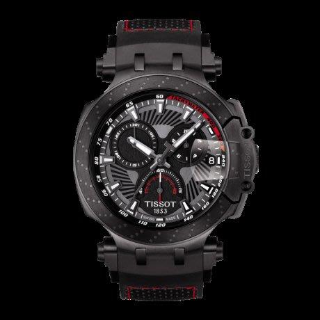 Tissot 天梭競速系列石英男腕錶2018MotoGP特別款 T1154173706104