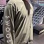 【G CORNER】Nike NSW Swoosh Crew 運動長袖 大學T 男 CU4035-010黑 380軍綠
