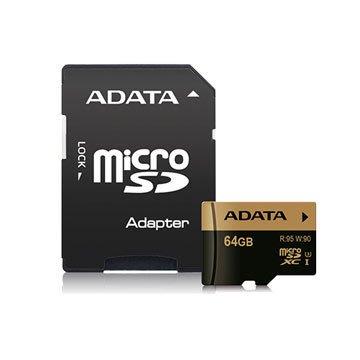 【捷修電腦。士林】ADATA 威剛 XPG microSDXC UHS-I U3 64G記憶卡(附轉卡) $ 1590