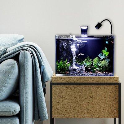 鱼缸鉑菲斯魚缸生態水族箱時尚創意自循環流水免換水家用客廳中型桌面