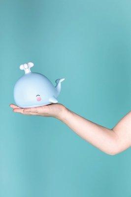 【現貨】QB選物 ❤ 荷蘭 a Little Lovely Company ❤ 療癒小鯨魚夜燈《授權經銷商》