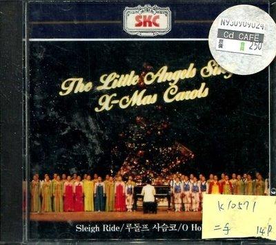 *真音樂* THE LITTLE ANGELSSING CHRISTMAS CAROLS 二手 K10571(下標賣1)