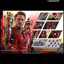 訂單 Hottoys Avengers Endgame Diecast Ironman Mark LXXXV Battle Damaged Ver MK 85
