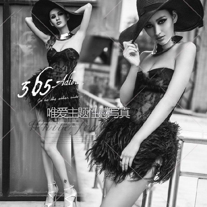 【優上精品】影樓性感鏤空街拍主題寫真藝術照拍攝服飾 DS歌手夜店演出服(Z-P3133)