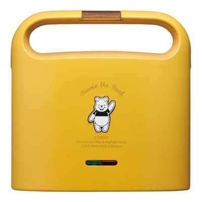 日本代購  迪士尼 Disney  小熊維尼 三明治機 烤吐司機 熱壓吐司機 預購