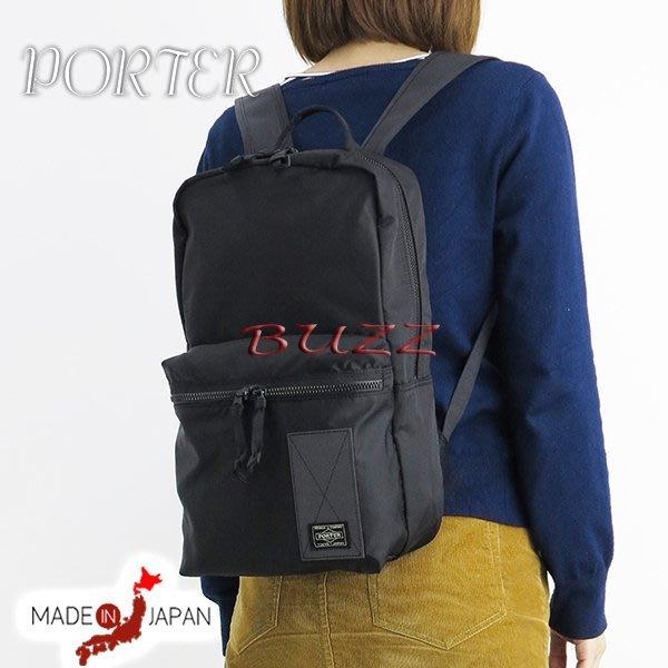 巴斯 日標PORTER屋- 黑色預購 PORTER RAYS 後背包 831-16119