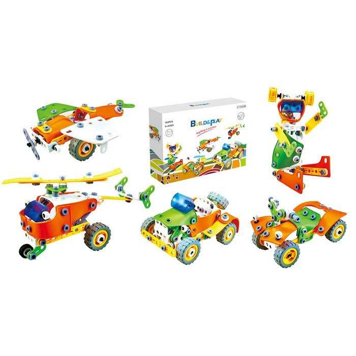 HANYE Build&Play 兒童積木 163pcs J-7741
