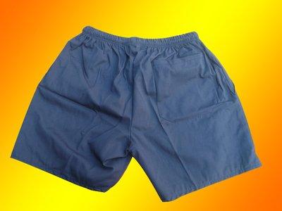 W軍品小舖 藍色短褲  休閒登山旅遊都...
