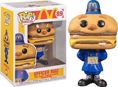 [代購] FUNKO POP 麥當勞 MCDONALD'S 大麥克警長 OFFICER MAC