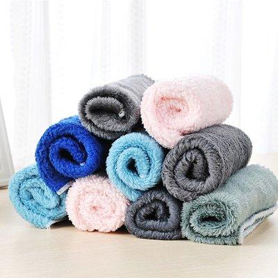 現貨  柔軟 纖維抹布 吸水 批發 贈品  擦手巾 毛巾 清潔 抹布 洗碗布 百潔布 ❃彩虹小舖❃【G045】不沾油抹布