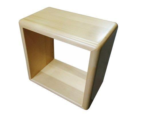 【森林原木手工家具】原木口字型椅子、擺飾櫃