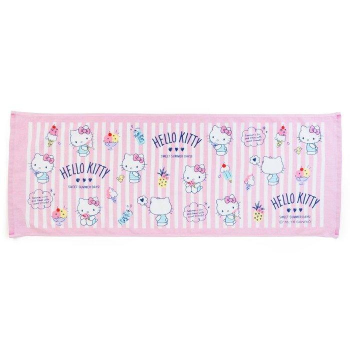 41+ 現貨免運費 不必等 日本正版 HELLO KITTY 凱蒂貓 兒童浴巾 小日尼三 新業務 日本代購