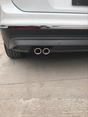 *有車以後*福斯 VW 17-18年 TIGUAN 尾飾管 TIGUAN 排氣管 TIGUAN 裝飾尾管 不鏽鋼