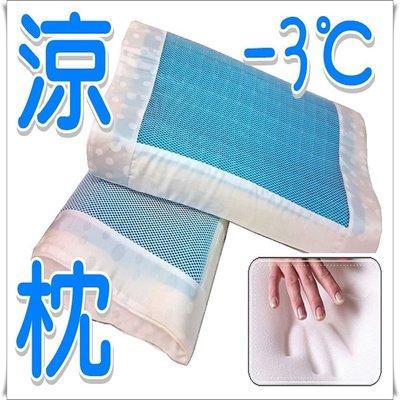 涼枕 表面冷凝墊結合乳膠與記憶棉人體工學冷凝膠涼感記憶枕頭/最新科技氣泡枕頭/冰涼枕頭/冷凝記憶枕/1入裝