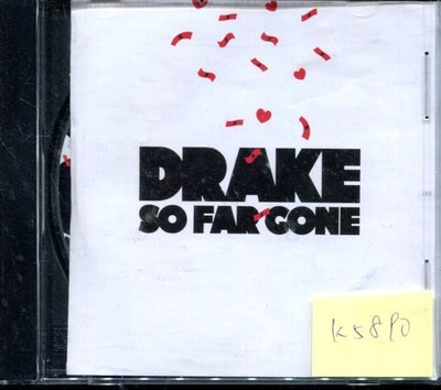*真音樂* DRAKE / SO FAR GONE 二手 K5890(封面底破.CD有缺口不影響讀取) (大降價.下標賣5)