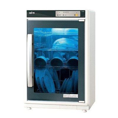 【小饅頭家電】『A級福利品‧數量有限』SAMPO 聲寶 四層光觸媒紫外線烘碗機 KB-RF85U