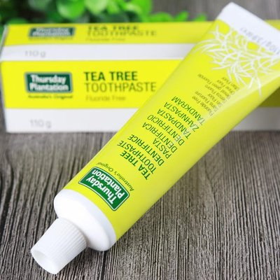 *╮e'Best╭*澳洲 星期四農莊 Tea Tree Toothpaste 茶樹抗菌牙膏 110g *不含氟*